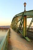 Marie Valerie bridge,Esztergom,Sturovo Stock Images