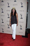 Marie Wilson arrives at the ATAS Daytime Emmy Awards Nominees Reception Stock Photos