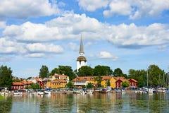 Mariefred, Schweden Stockbild