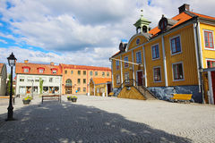 Mariefred square Royalty Free Stock Photos