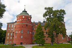 Mariefred, Svezia - castello di Gripsholm Fotografia Stock Libera da Diritti