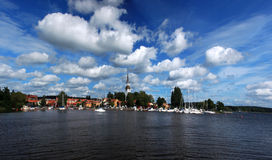 Mariefred town (Sweden) Stock Images