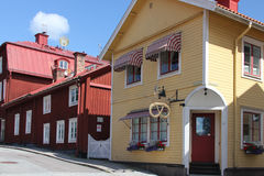 Mariefred town, Sweden Royalty Free Stock Photo