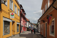 Mariefred town, Sweden Stock Photography