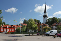 Mariefred town, Sweden Stock Image