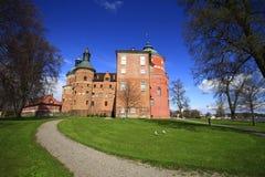 Mariefred, Zweden, het Gripsholms-kasteel stock fotografie
