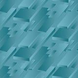 marien blauw kleuren abstract concept Royalty-vrije Stock Fotografie