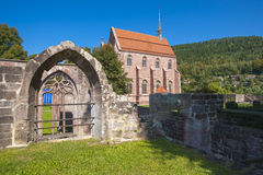 The Marien-chapel in the historical monastery of Hirsau Stock Photo