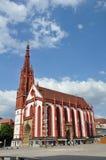 Marien Chapel (Marienkapelle) Wurzburg Stock Images