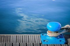 Marien dok voor jachten en boten stock fotografie