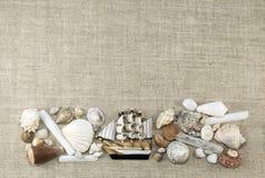 Marien kader met horizontaal schip, Stock Fotografie