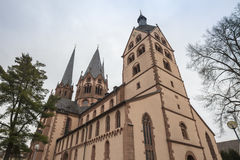 marien kościół gelnhausen Germany Zdjęcie Stock