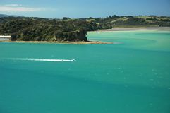 Marien Paradijs, groene overzees. Stock Foto