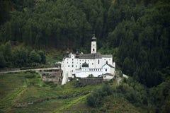 Marienberg Abbey or Abtei Marienberg or Abbazia Monte Maria Stock Images