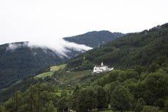 Marienberg Abbey or Abtei Marienberg or Abbazia Monte Maria Stock Photos