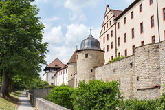 Marienberg castle Royalty Free Stock Image