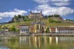 Marienberg Castle Wurzburg Stock Photo