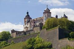 Marienberg Castle Wurzburg Stock Image
