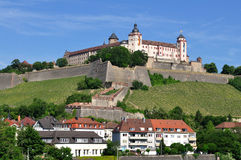 Marienberg fortress Royalty Free Stock Images