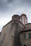 Marienberg Fortress Walls Stock Photo