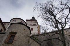 Marienberg Fortress Walls Stock Image