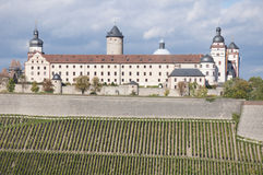 Marienberg Fortress, Wuerzburg Stock Photography