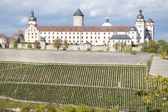 Marienberg Fortress, Wuerzburg Stock Photo