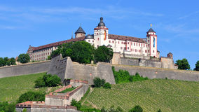 Marienberg fortress in Wurzburg Stock Image
