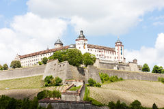 Marienberg Fortress, Wurzburg Stock Photos