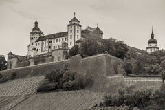Marienberg Fortress in Wurzburg, Germany Royalty Free Stock Photography