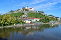 Marienberg Fortress in Wurzburg, Germany Stock Images