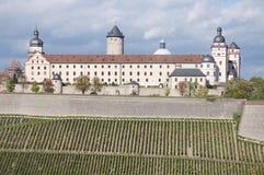 Marienbergvesting, Wuerzburg stock fotografie