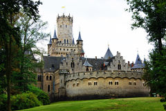 Marienburg城堡& x28的全视图; Germany& x29; 库存照片