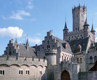 Marienburg Castle Stock Photo