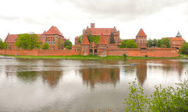 Marienburg Castle in Poland. Stock Photos