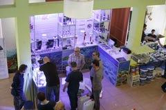 Mariene aquariumvergadering Royalty-vrije Stock Fotografie