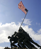 Mariene HerdenkingsIwo Jima Stock Foto's