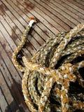 Mariene kabel Royalty-vrije Stock Afbeeldingen
