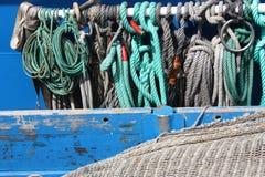 Mariene kabels Royalty-vrije Stock Afbeelding