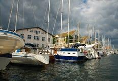 Mariene kanalensteden van Kopenhagen Royalty-vrije Stock Fotografie