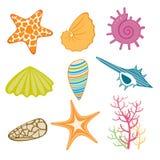 Mariene pictogrammen Stock Fotografie