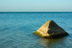 Mariene piramide Royalty-vrije Stock Afbeeldingen