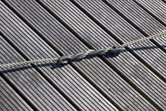 Mariene witte kabel Royalty-vrije Stock Foto