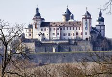 Marienfestung (fortress), Wuerzburg Royalty Free Stock Images