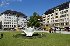 MARIENHOF τετράγωνο στο Μόναχο, Γερμανία στοκ φωτογραφίες με δικαίωμα ελεύθερης χρήσης