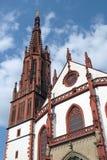 Marienkapelle教会维尔茨堡 免版税库存照片