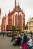 Marienkapelle в Würzburg стоковые фото