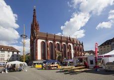 Marienkapelle Wurzburg, Германия стоковое изображение rf