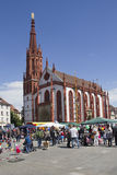 Marienkapelle Wurzburg, Германия стоковое фото rf