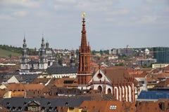 Marienkapelle Wurzburg, Германия Стоковое Изображение